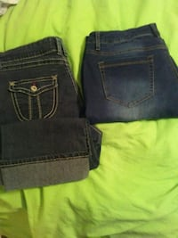 Size 16 skinny jeans and Caprise Lubbock, 79414