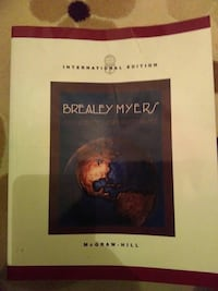 McGraw Hill'in Brealey Myers kitabı