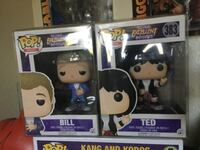 Bill and Ted's excellent adventure Funko pop set  Manteca