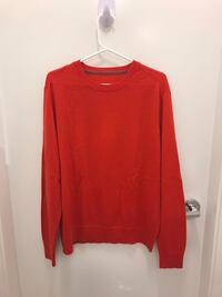 Orange sweater M Richmond, V6X 2A2