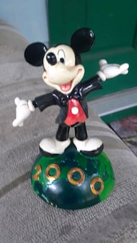 Mickey Millenium Commemorative Figurine Floral City, 34436