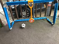 Fisher Price soccer net.  Sounds Pittsburgh, 15223