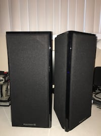 Atlantic Technology THX 454SR V-pole speakers surround $899 retail San Jose, 95121