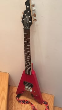 red and black electric guitar Arlington, 22206