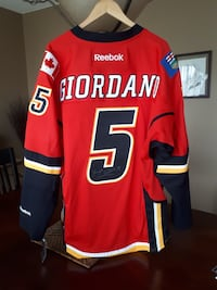 Autographed Flames Jersey