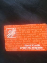 $170 home depot in store credit card Edmonton, T5M 4E7