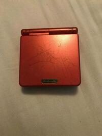 Gameboy advanced sp red w charger and case Roselle Park, 07204