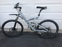 Cannondale full suspension Mountain bike with shimano components and disc brakes Westminster, 92683