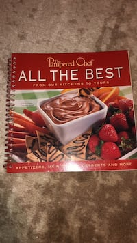 Pampered Chef All the Best Cookbook New Cumberland, 17070