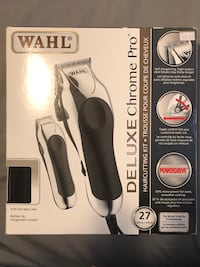 WAHL Deluxe Chrome Pro Haircutting Kit