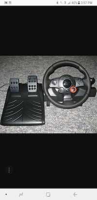 Driving force GT gaming race wheel  505 mi