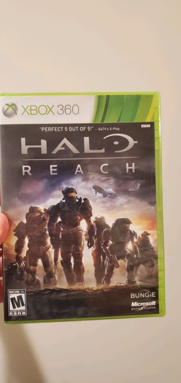New SEALED HALO Reach  4