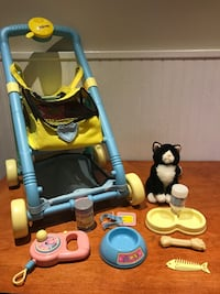 Kitten Carriage/Carrier/Accessories