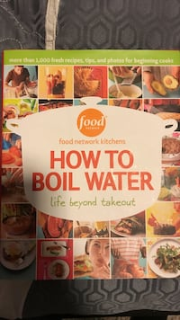How to Boil Water Life Beyond Takeout cookbook Oakville, L6M 3V5