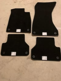 2017 to 2019 OEM Audi carpet mats Mississauga, L5N 7S6
