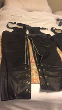 Size Large leather chaps Rogers, 72758