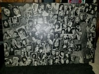 Mounted wooden poster of all the great performers  London, N5V 4W2