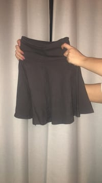 American apparel, size small, high waisted skirt- small hole thats been stitched