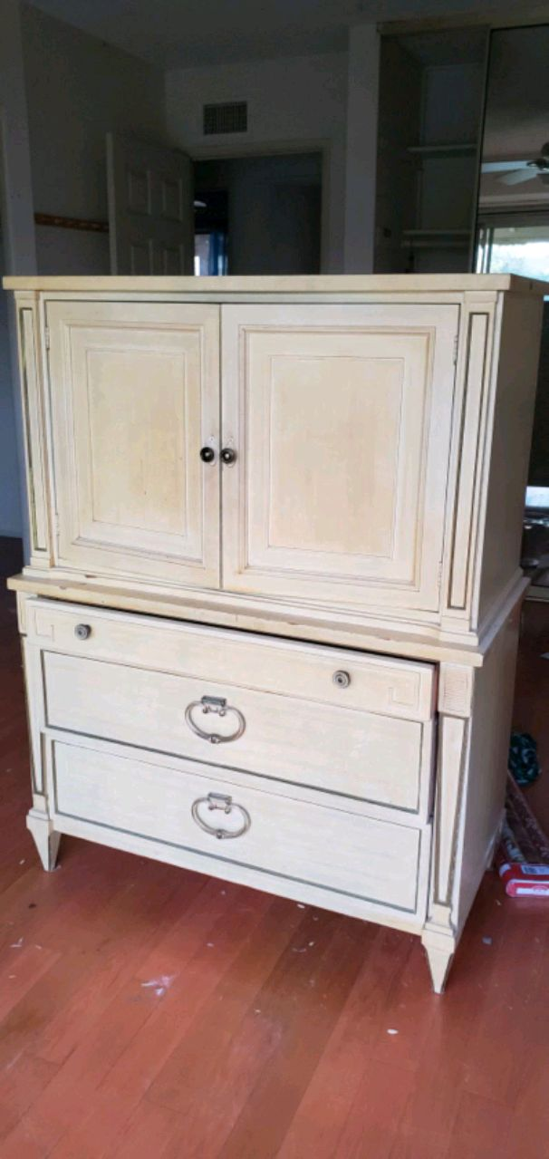 Photo Armoire Dresser Chest Highboy by American of Martinsville