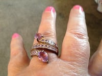 Silver ring with purple sapphire Fredericksburg, 22407