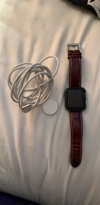 Apple Watch with rare leather band Leesburg
