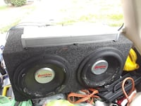 Boston Acoustics 12inch subs