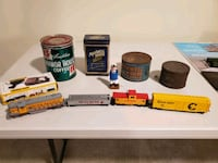 train set and coffee cans  Matthews, 28105