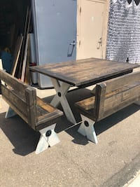Custom made tables and benches from a local licensed shop  Lemon Grove, 91945