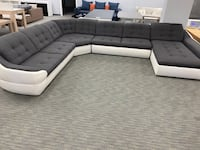 Sleeper sectional sofa with storage space!!!!  Miami