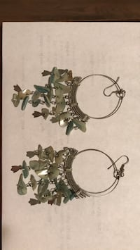 silver-colored and diamond earrings Germantown, 20874
