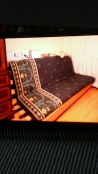 Sofabed double wooden frame