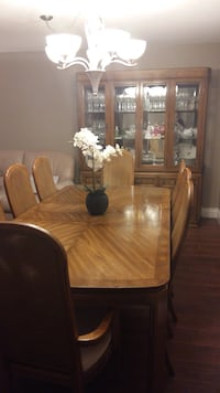 Wood dining room set - (15) piece Vaughan, L4L 1S2