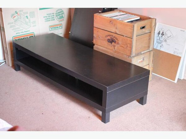 separation shoes 7a3f4 0c3bb Ikea malm brown tv stand