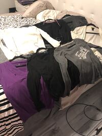Bag of 14 shirts, cardigans and sweaters. Size medium. $20 for everything. All in good condition   Las Vegas, 89145