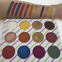 12 colour eyeshadow by Laffy Cosmetics Mississauga