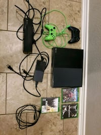 black Xbox One console with controller and game cases Killeen, 76549