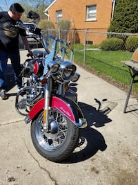 2004 heritage Softail well kept