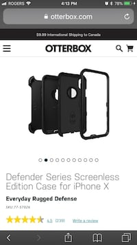 Iphone X Otter Box Defender Brand new ! Mississauga, L5N