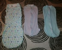 3 Cotton NB swaddlers  Stafford, 22554