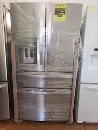 NEW ! WHIRLPOOL STAINLESS STEEL 4 DOOR FRIDGE Long Beach, 90815