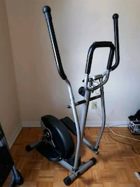 black and gray elliptical trainer Mississauga, L5J