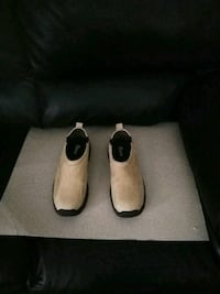 pair of white-and-black slip on shoes Boston, 02136