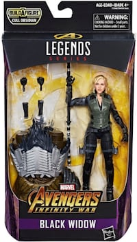 Black Widow avengers infinity war marvel legends figür İstanbul