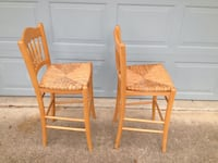 two brown wooden armless chairs Ormond Beach, 32174