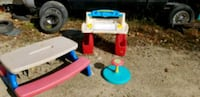 Desk, picnic table, sit & spin  Milford, 03055