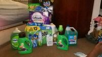 assorted Gain and Tide detergent bottles Moreno Valley, 92553