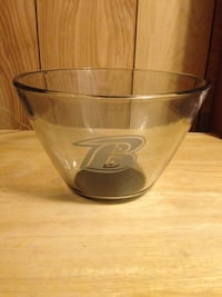 Baltimore etched glass centerpiece bowl. Never used. Nottingham, 21236