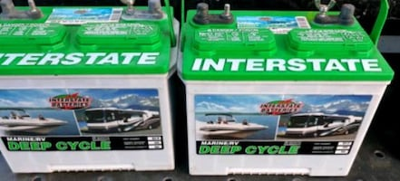 Interstate deep cycle batteries 12v