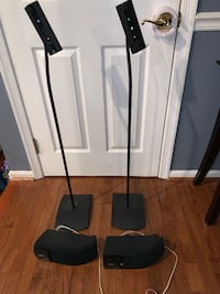 Pair of Bose speakers and stands  Fairfax, 22032