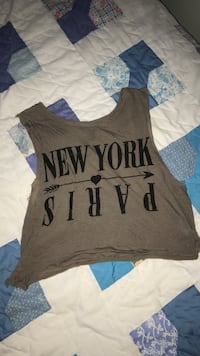 gray and black tank top Sanford, 27330